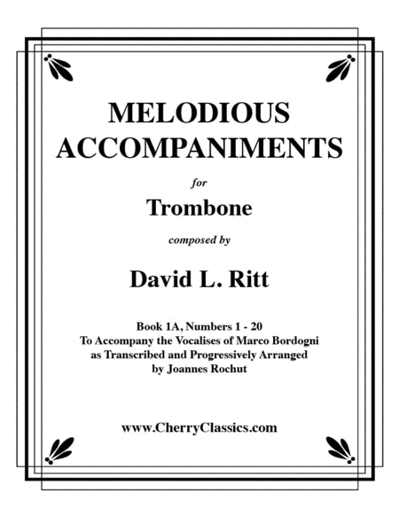 Melodious Accompaniments for Trombone incl. CD-Rom Volume 1A (1-20)