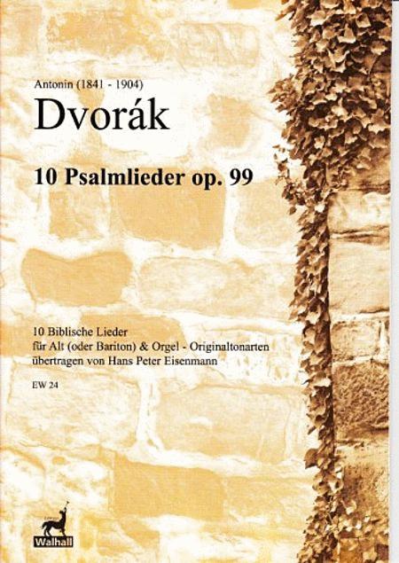 Psalmlieder op. 99 (low voice)