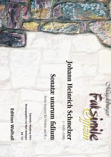Sonatae unarum fidium (Fac.)