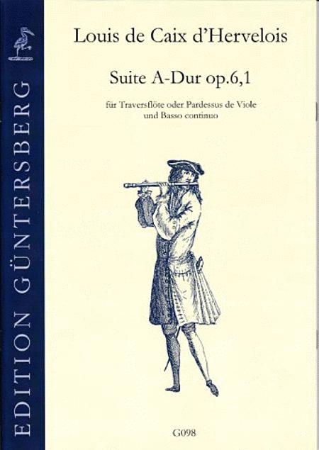Suite A-Dur op. 6,1