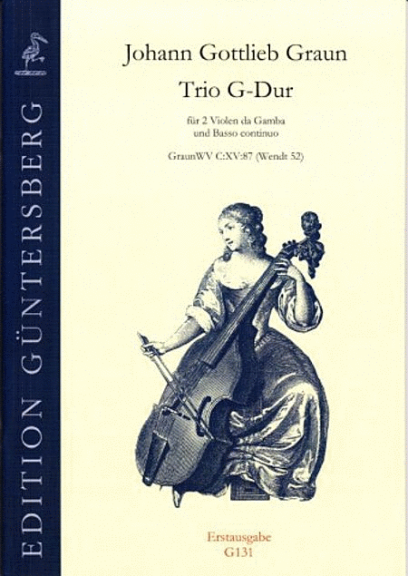 Trio G-Dur, 2 Gamben
