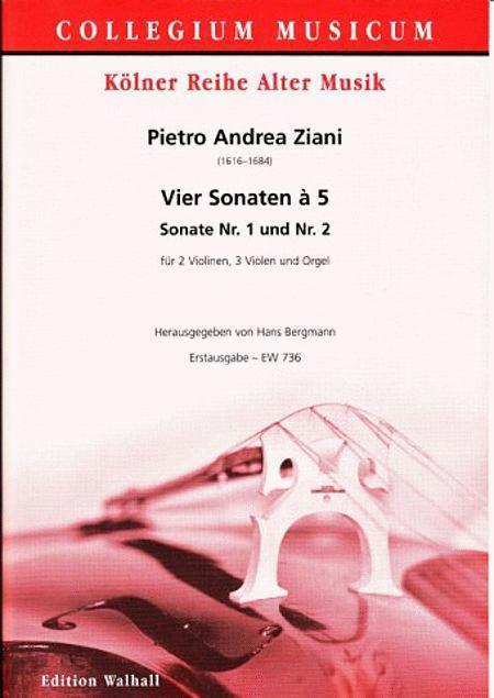 Vier Sonaten a 5: Nr. 1+2