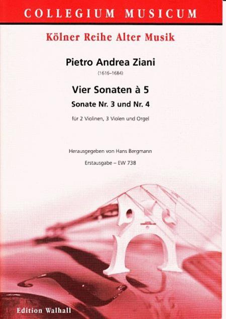 Vier Sonaten a 5: Nr. 3+4