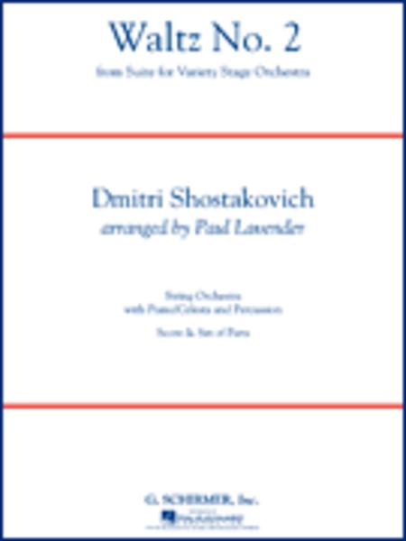 Waltz (from Jazz Suite No. 2) Full Score