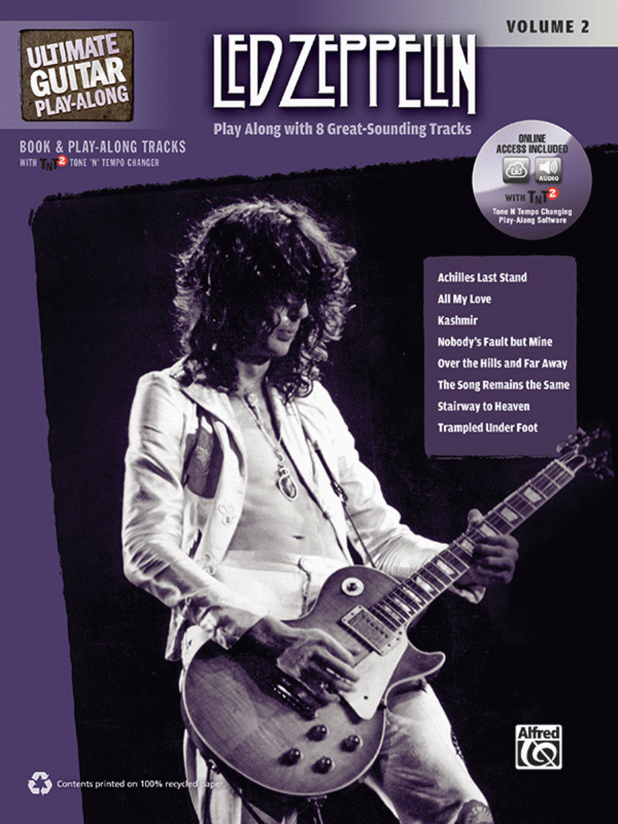 Ultimate Guitar Play-Along Led Zeppelin, Volume 2