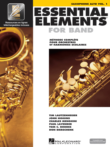 Essential Elements 2000 (Alto Saxophone) - French Edition