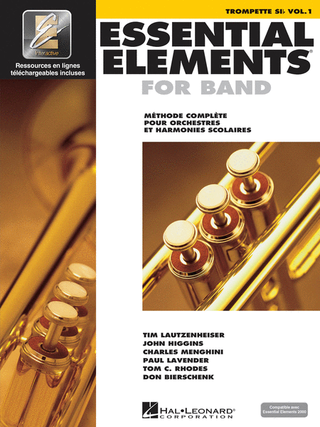 Essential Elements 2000 (Trumpet) - French Edition