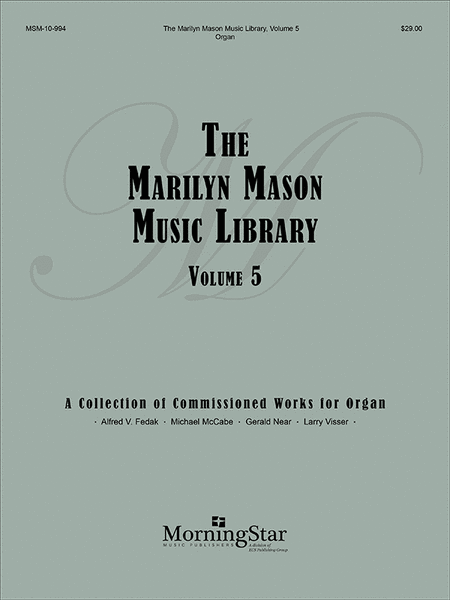 Marilyn Mason Music Library, Volume 5