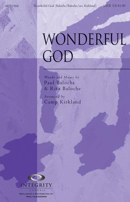 Wonderful God - Accompaniment CD