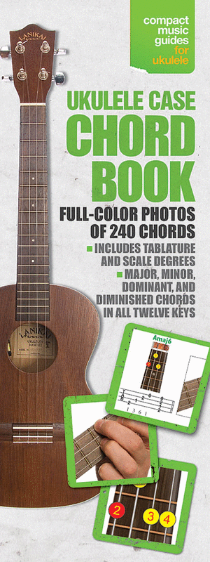 Ukulele Case Chord Book