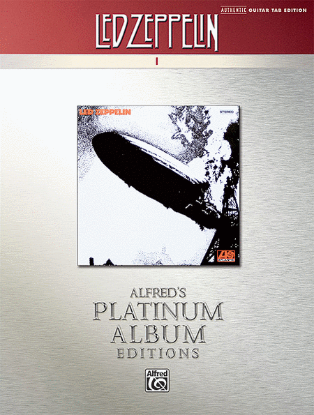 Led Zeppelin -- I Platinum Guitar