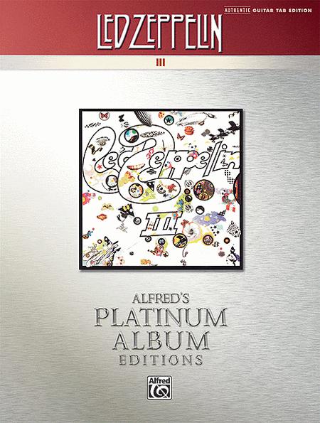 Led Zeppelin -- III Platinum Guitar