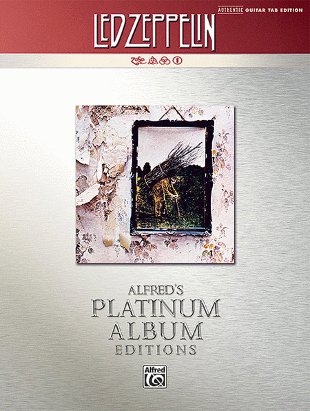 Led Zeppelin -- IV Platinum Guitar