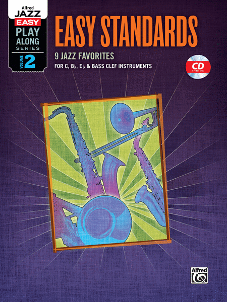 Alfred Jazz Easy Play-Along -- Easy Standards, Volume 2