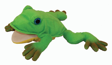 Freddie the Frog Teacher's Puppet