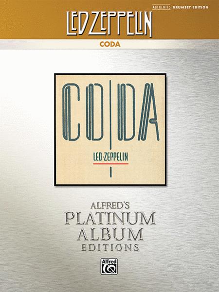 Led Zeppelin -- Coda Platinum Drums