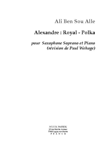 Alexandra : Royale - Polka