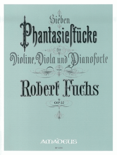 7 Fantasy Pieces op. 57
