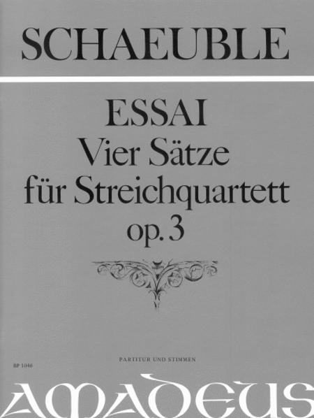 Essai - 4 Movements, op. 3