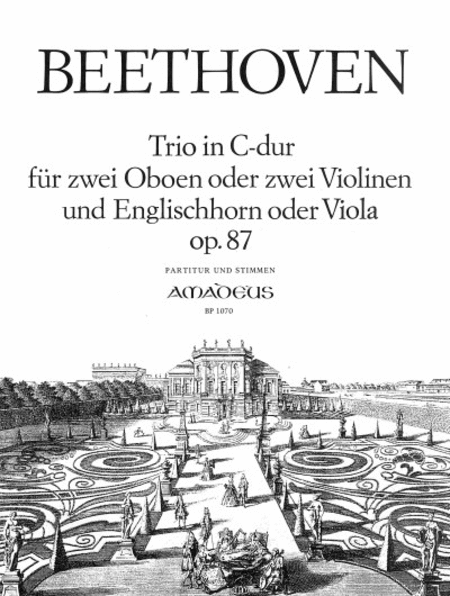 Trio C major Op. 87