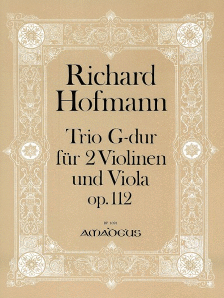 Trio G major Op. 112