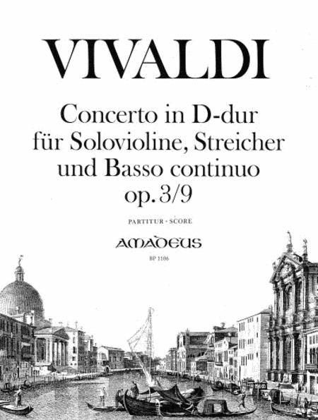 Concerto D major op. 3/9 RV 230