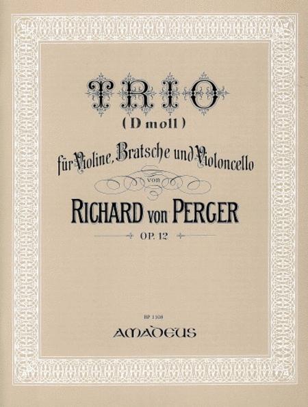 Trio in D minor op. 12