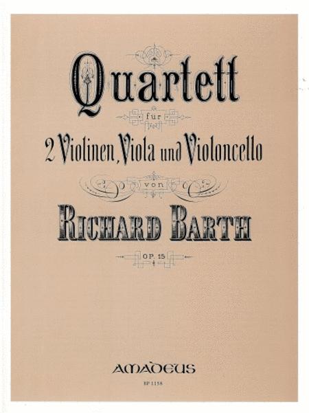 Quartet op. 15 op. 15