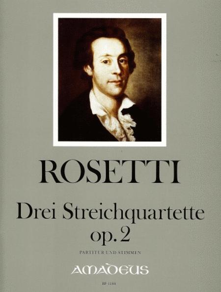 3 String quartets op. 2 Murray RWV D6-D8
