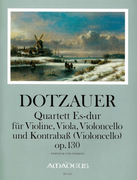 Quartet E flat Major op. 130