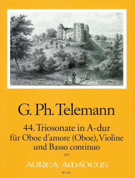 Trio Sonata No. 44 in A Major TWV 42:A14