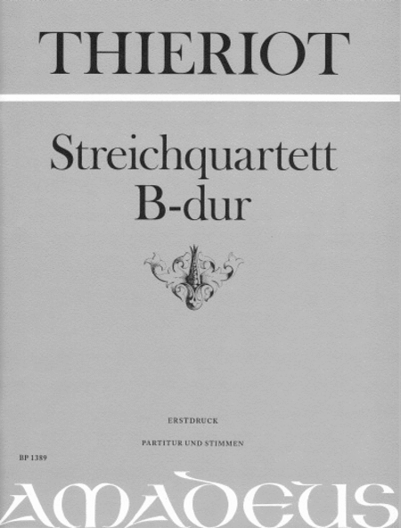 String Quartet B flat Major