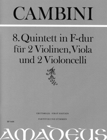 8th Quartet in F major