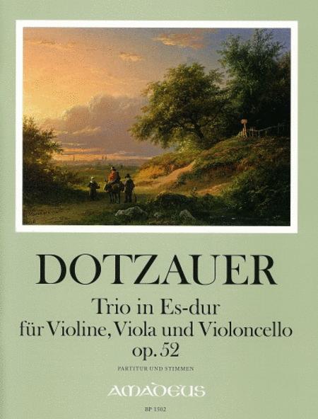 Trio in E flat op. 52
