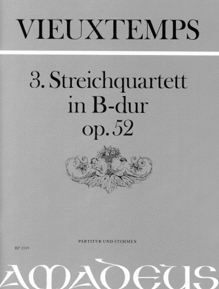 String Quartet no.3 in B flat op. 52