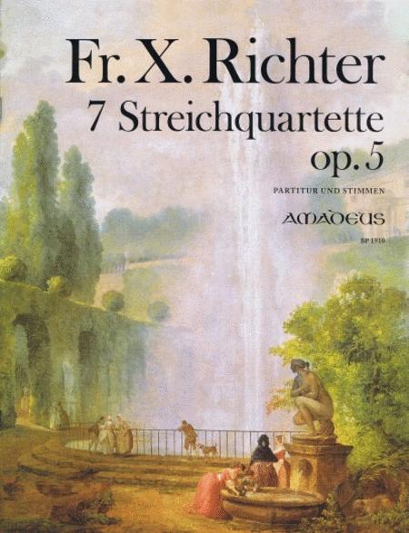 7 String Quartets op. 5