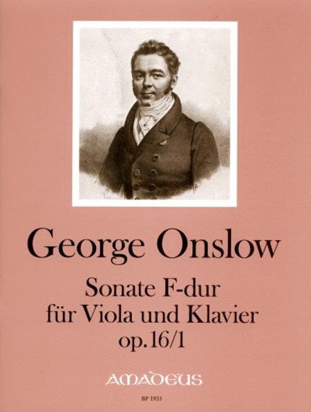 Sonate in F major op. 16/1
