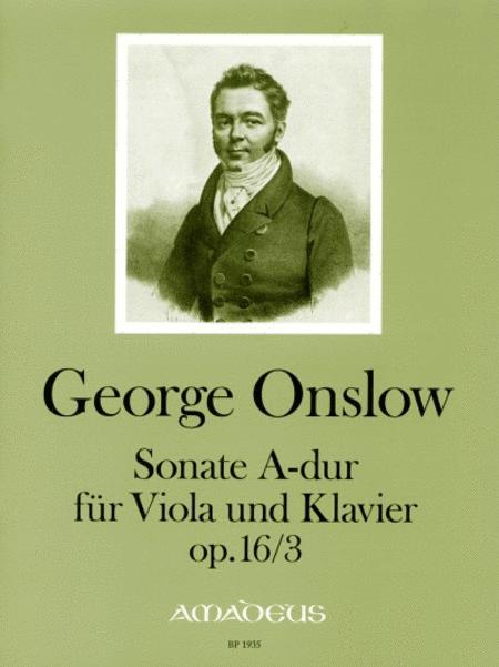 Sonate in A major op. 16/3