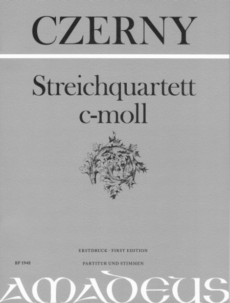 String Quartet C minor