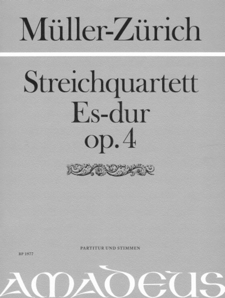 String Quartet Op. 4 op. 4