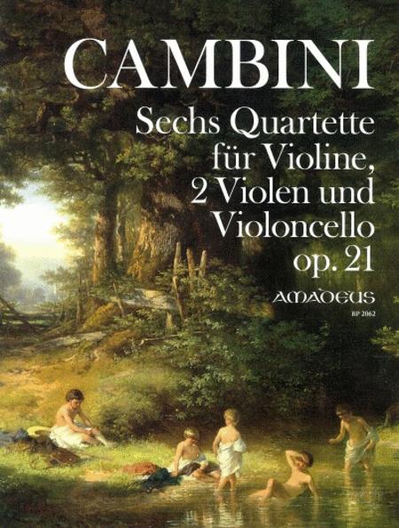 Six Quartets op. 21