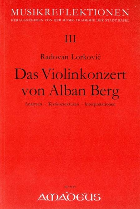 Das Violinkonzert von Alban Berg