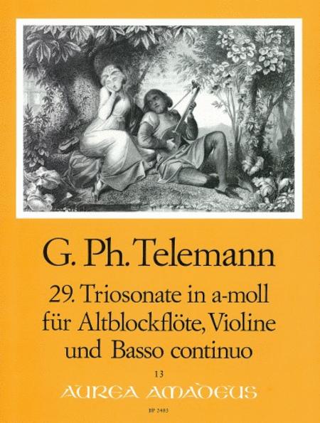 29th Trio sonata A minor TWV 42:a1