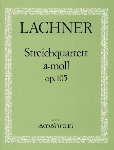 String Quartet A minor op. 105