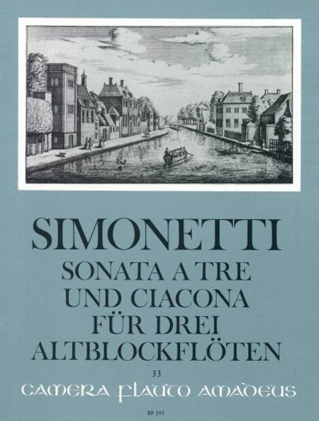 Sonata a tre et Ciacona
