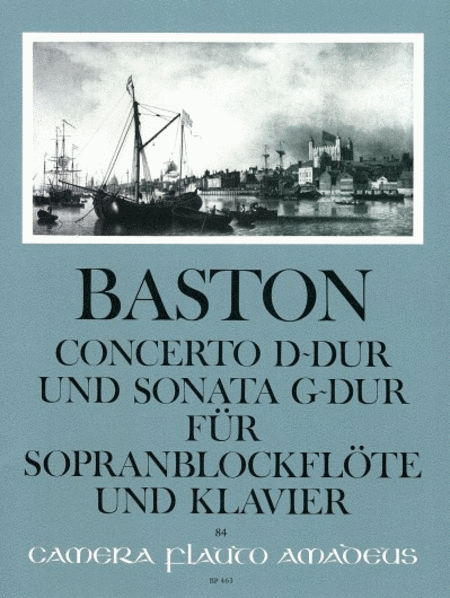 Concerto D major & Sonata G major