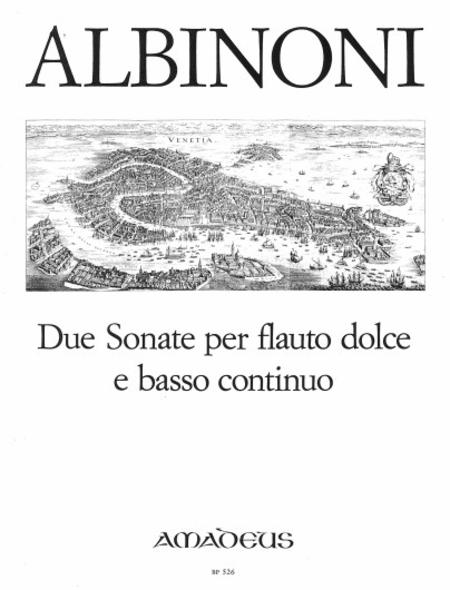 2 Sonatas op. post.