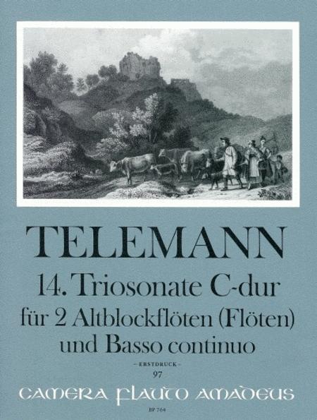 14th Trio sonata C major TWV Anh. 42:C1