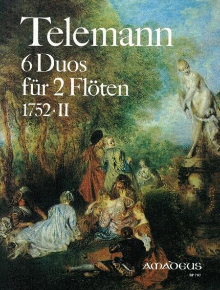 6 Duos TWV 4O:124-129 - Volume 2