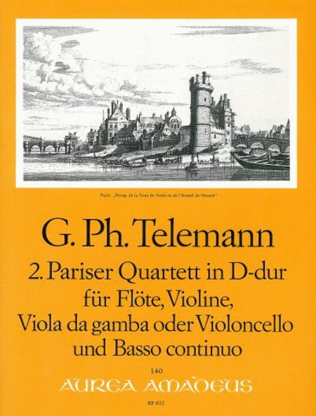 2nd Paris Quartet D major TWV 43:D1